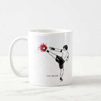 "Muay Thai, ""Just Kick It!"" mug"