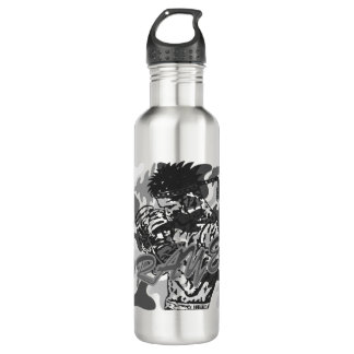 Muay Thai, Martial Arts, Kick Boxing and Prayer 710 Ml Water Bottle