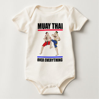 Muay Thai over everything Baby Bodysuit