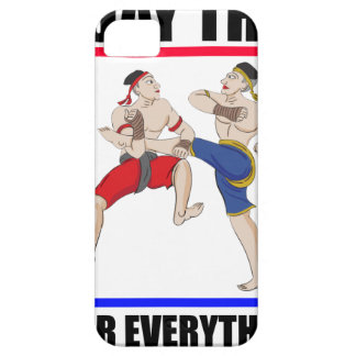 Muay Thai over everything Case For The iPhone 5
