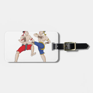 Muay Thai over everything Luggage Tag