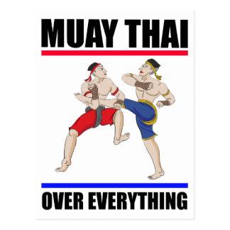 Muay Thai over everything Postcard