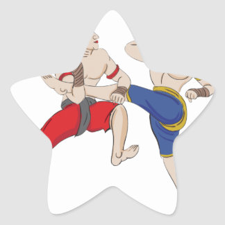 Muay Thai over everything Star Sticker