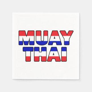 Muay Thai Paper Napkins