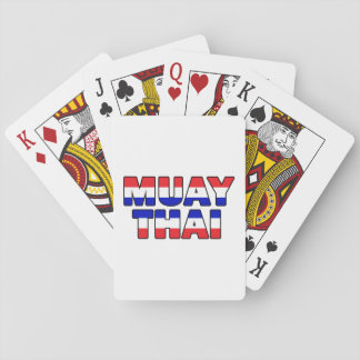 Muay Thai Playing Cards