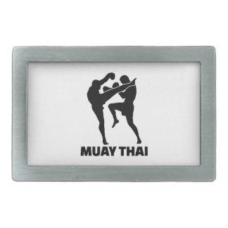 Muay Thai Rectangular Belt Buckle