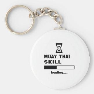 Muay Thai skill Loading...... Keychain