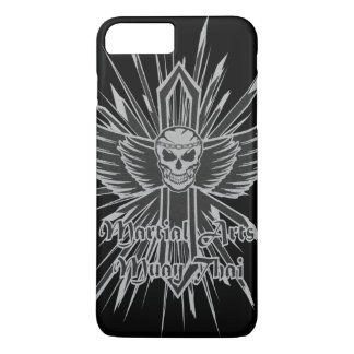 Muay Thai Skull, Kick Boxing and Martial Arts iPhone 7 Plus Case