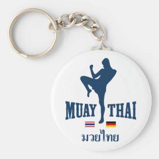 Muay Thai Thailand Germany Keychain
