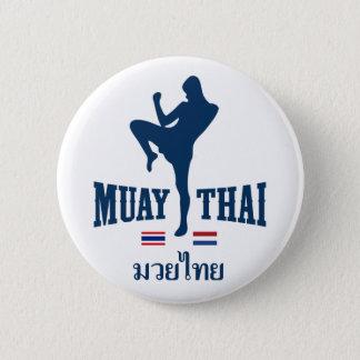 Muay Thai Thailand Netherlands 2 Inch Round Button