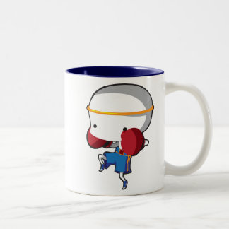 Muay Thai Two-Tone Coffee Mug