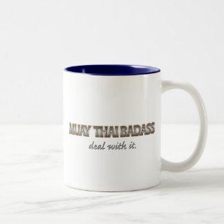 MUAYTHAI Two-Tone COFFEE MUG