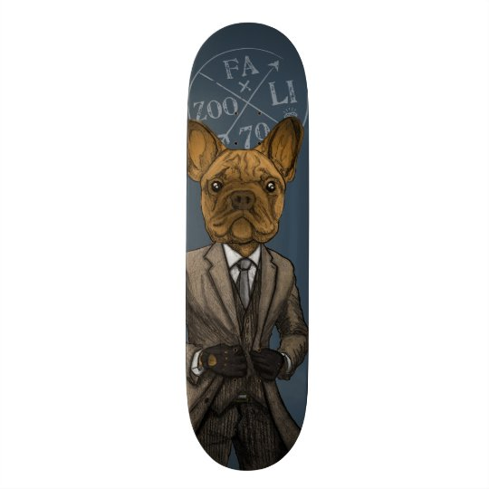 Much Handsome, Dapper Doge Skateboard
