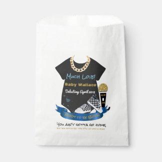 Much Love 90's Hip Hop Boy Baby Shower Favor Bags