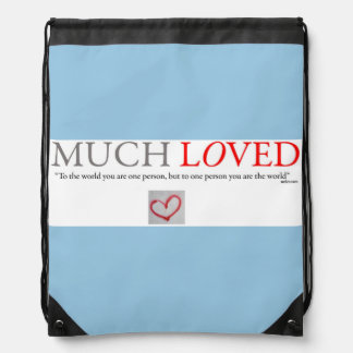 Much Loved - Baby boy travel backpack