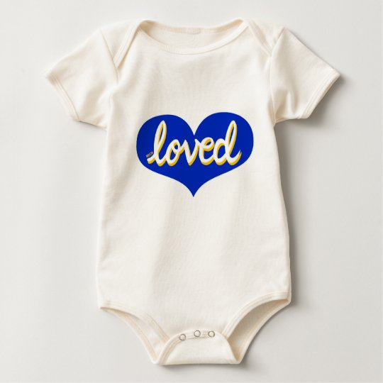 Much Loved - Organic baby bodysuit