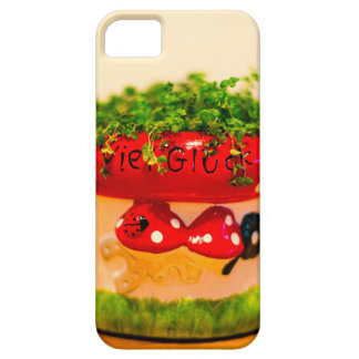 Much luck flower pot iPhone 5 cases