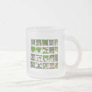 Much pretty drawings of Placide Geurts digs Frosted Glass Coffee Mug