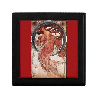 Mucha Dance art deco Gift Box