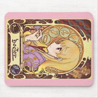 Mucha doctor   miyushiyadokuta mouse pad