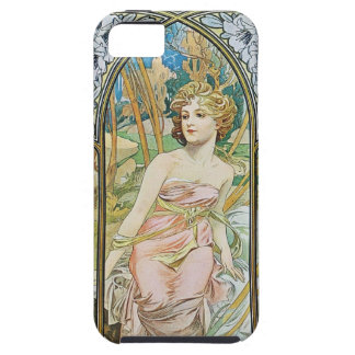 Mucha Morning Awakening iPhone 5 case