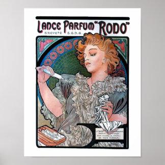 Mucha Parfum Rodo Poster