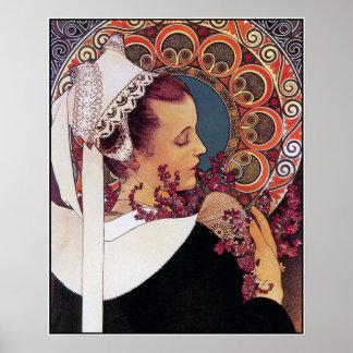 Mucha Poster Print: Alphonse Mucha - Art Nouveau