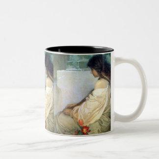Mucha Vintage Woman Mug