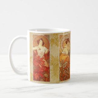 Mucha's Precious Stones Coffee Mug