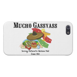 Mucho Gassyass Mexican Food iPhone 5/5S Covers