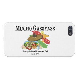Mucho Gassyass Mexican Food iPhone 5 Covers
