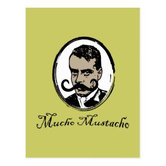 Mucho Mustacho - Zapata Postcard