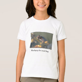 Muckapog the wood frog. T-Shirt