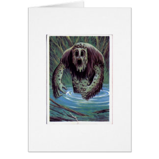 Mucky Vintage Monster Card