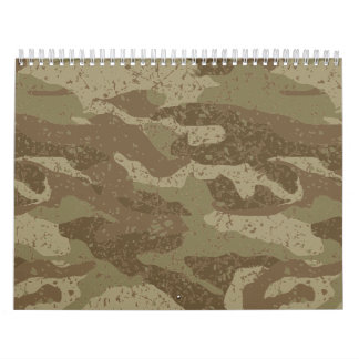 Mud camouflage calendar