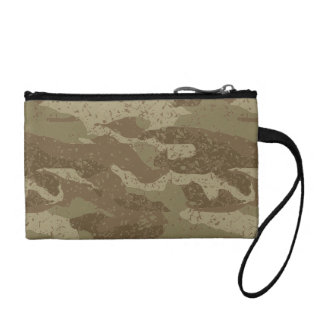 Mud camouflage coin purse