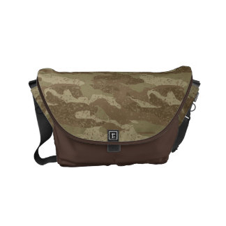 Mud camouflage commuter bag