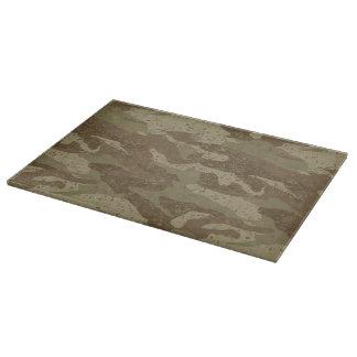 Mud camouflage cutting board