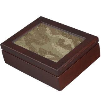 Mud camouflage keepsake box