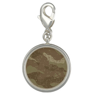 Mud camouflage photo charms