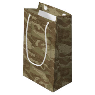 Mud camouflage small gift bag