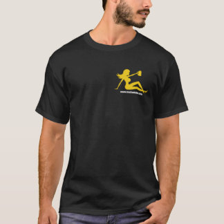 Mud Flap Girl with a Beer! T-Shirt