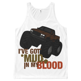 Mud in my Blood All-Over-Print Tank Top