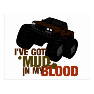 Mud in my Blood Postcard