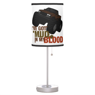 Mud in my Blood Table Lamp
