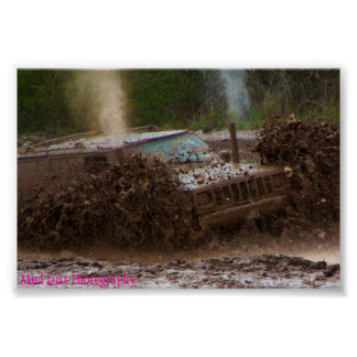Mud Jeep Poster