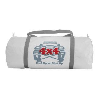 Mud Up or Shut Up 4x4 Off Road Gym Bag