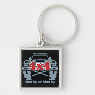 Mud Up or Shut Up 4x4 Off Road Keychain