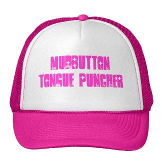 mudbutton tongue puncher trucker hat