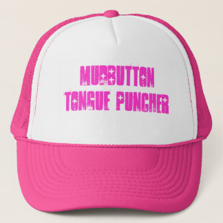 mudbutton tongue puncher trucker hat